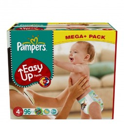 Pampers Easy Ups - Größe 4 (8-15 kg) - Mega+ Pack