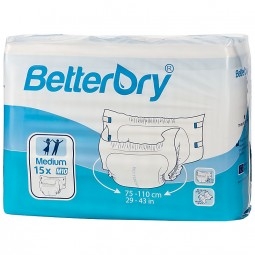 BetterDry Windeln mit Folie - M10
