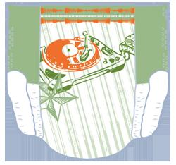 Pampers Underjams - Frontansicht (Beispiel 2)